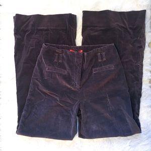 Anthropologie Cartonnier Wide Leg Corduroy Pants